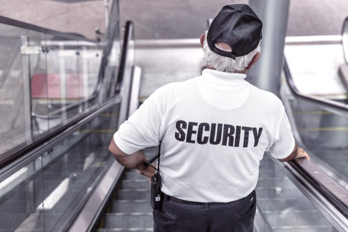 guardia seguridad policia